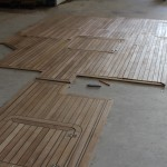 Teak Deck prior to installation