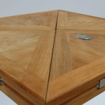 Square Folding Table Teak